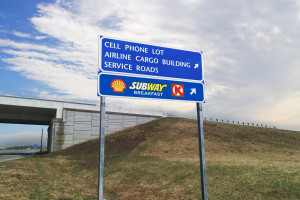 Highway Directional Sign